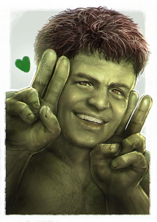Anh chàng Hulk bớt nhăn nheo và cục xúc hơn hẳn.