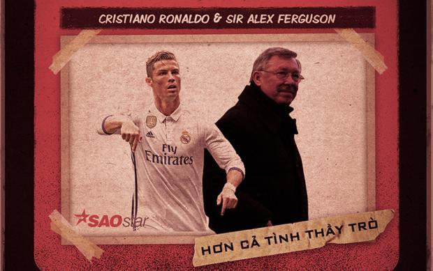Sir Alex Ronaldo: Những nghĩa cử đặc biệt của cậu học trò dành tặng cho ngài máy sấy tóc