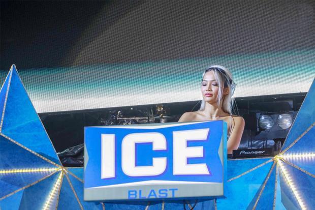DJ King Lady khép lại ngày hội thứ hai.
