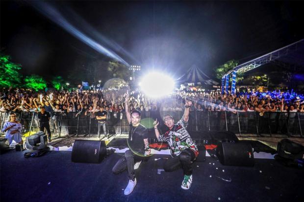 DJ Minh Trí đảm nhận phần kết thúc một mùa Festival trọn vẹn và đáng nhớ.