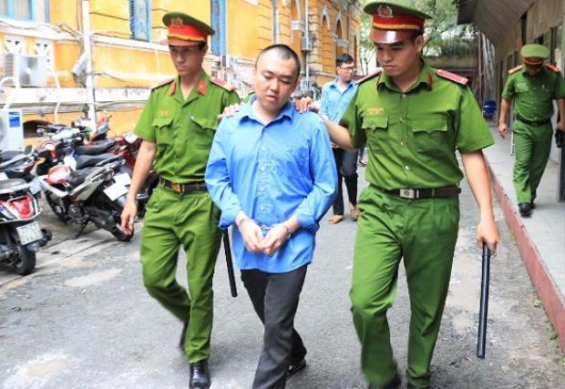 Bị cáo Lương Huỳnh Vũ. Ảnh Zing.vn