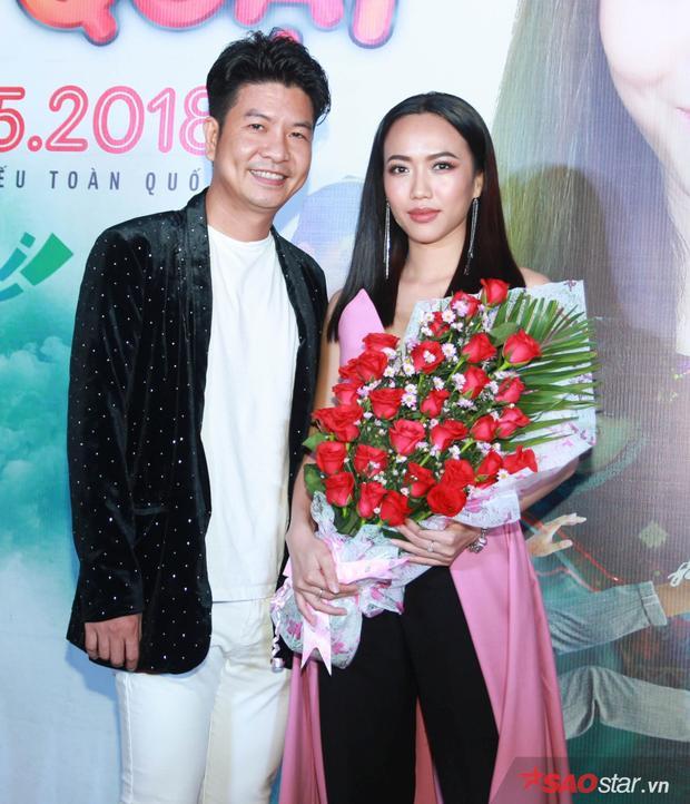 Diệu Nhi và đạo diễn Nguyễn Ngọc Hùng