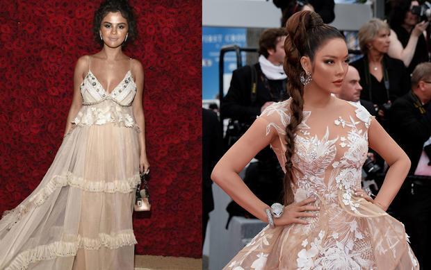 A đây rồi, Lý Nhã Kỳ đã ăn đứt Selena khi cùng thích làn da nâu rám nắng
