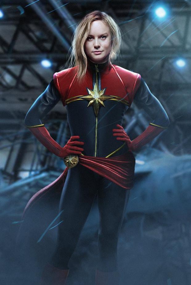 """Captain Marvel sẽ xuất hiện để cứu nguy nhân loại trong """"Avengers 4""""."""