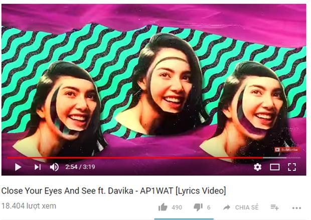 Fan dường như hoàn toàn thờ ơ với MV mà Mai Davika góp giọng.