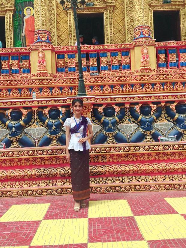 Thạch Thị Chanh Đavy - cô gái dân tộc Khmer mang vẻ đẹp giản dị đến từ trường Đại học Cần Thơ