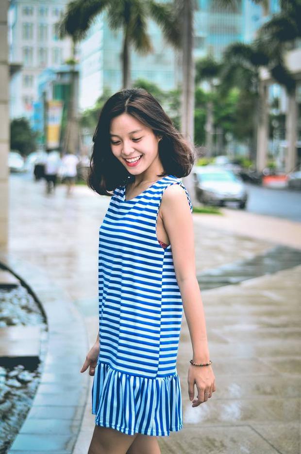 Nét đẹp trong trẻo của nữ sinh Sài Gòn.