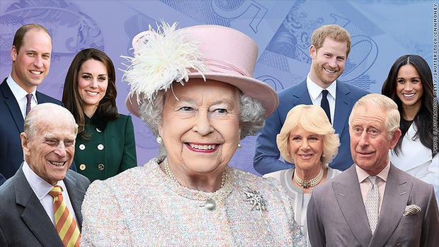 Nữ hoàng Elizabeth II thu nhập chủ yếu từ khoản Hỗ trợ hoàng gia, bất động sản và tài sản riêng. Ảnh: CNN