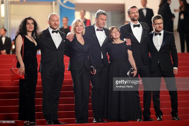 Nhà sản xuất Tanya Seghatchian, diễn viên Borys Szyc, nữ diễn viên Joanna Kulig, đạo diễn Pawel Pawlikowski, nhà sản xuất Ewa Puszczynska, diễn viên Tomasz Kot.