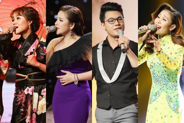Top 4 chung cuộc: Yuuki Ánh Bùi, Thúy Anh, Duy Cường và Thanh Lan.