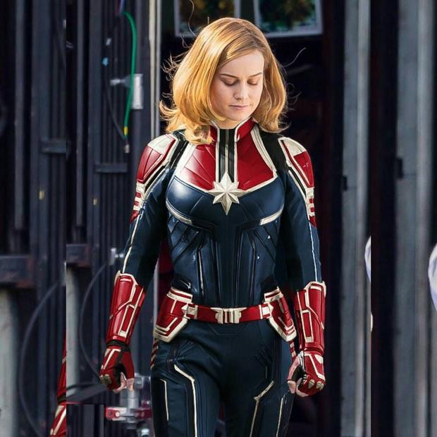 Brie Larson sẽ là mấu chốt cuối cùng nhằm dẫn biệt đội Avenger đến chiến thắng.