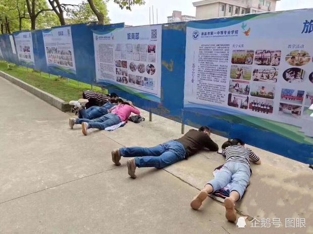 Hình ảnh được ghi lại vào ngày 8/5 vừa qua tại Giang Tây, Trung Quốc.