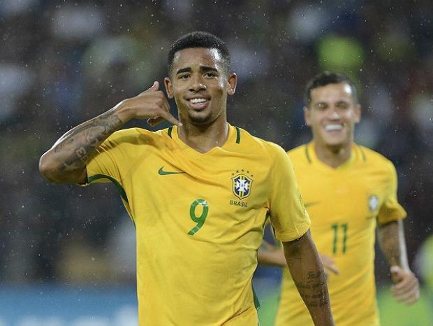 Gabriel Jesus sẽ là chủ công của Brazil tại World Cup 2018?.
