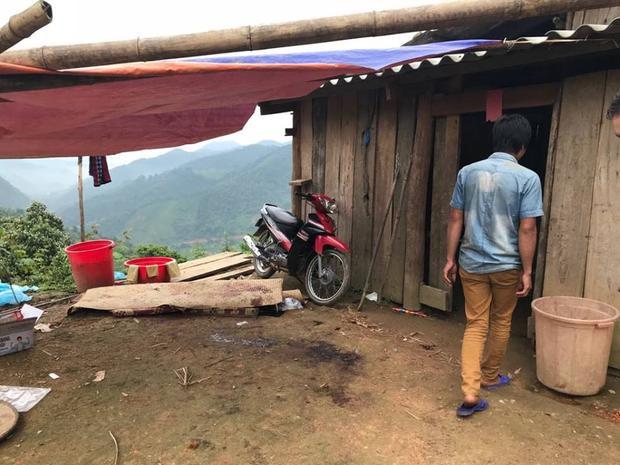 Ngôi nhà nơi Khánh sát hại 4 người.