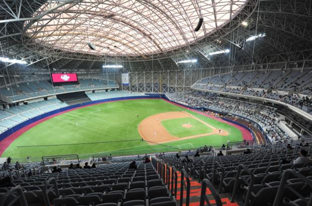 """Các fan Kpop có vẻ không còn quá xa lạ gì với """"thánh địa"""" Gocheok Sky Dome tại Seoul, nơi từng tiếp đón Katy hồi tháng 4 vừa rồi."""