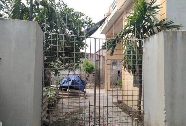 Ngôi nhà ông K. đóng cửa im ỉm. Ảnh: Vietnamnet.