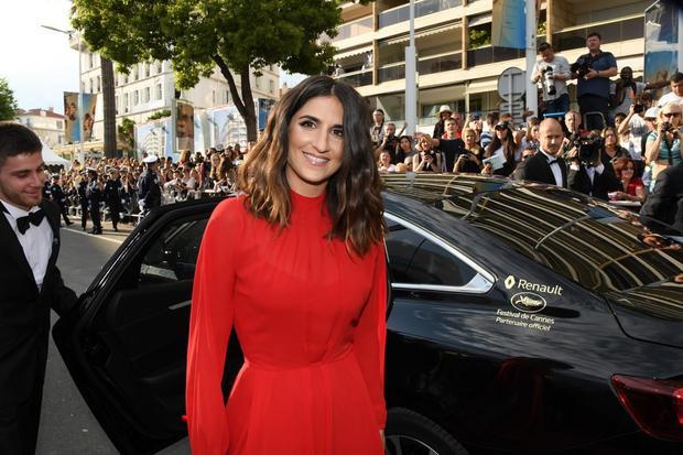 Nữ diễn viên từng đoạt giải Jury Prize của LHP Cannes - Géraldine Nakache được đưa đến sự kiện bằng xe Renault Talisman.