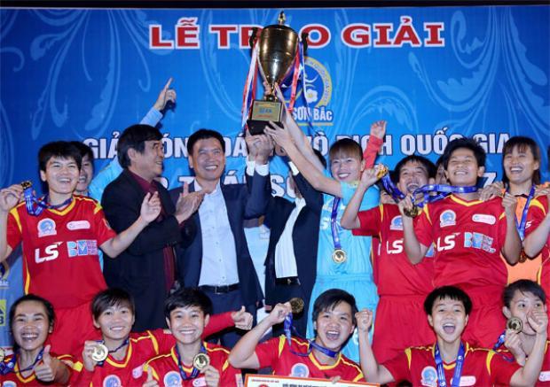 CLB bóng đá nữ TP.HCM I đang thống trị bóng đá nữ Việt Nam trong 3 năm qua.