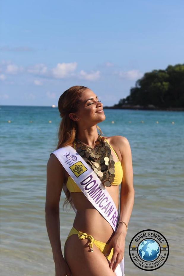 Hoa hậu đến từ Cộng hòa Dominican có gương mặt không cân đối với hình thể.