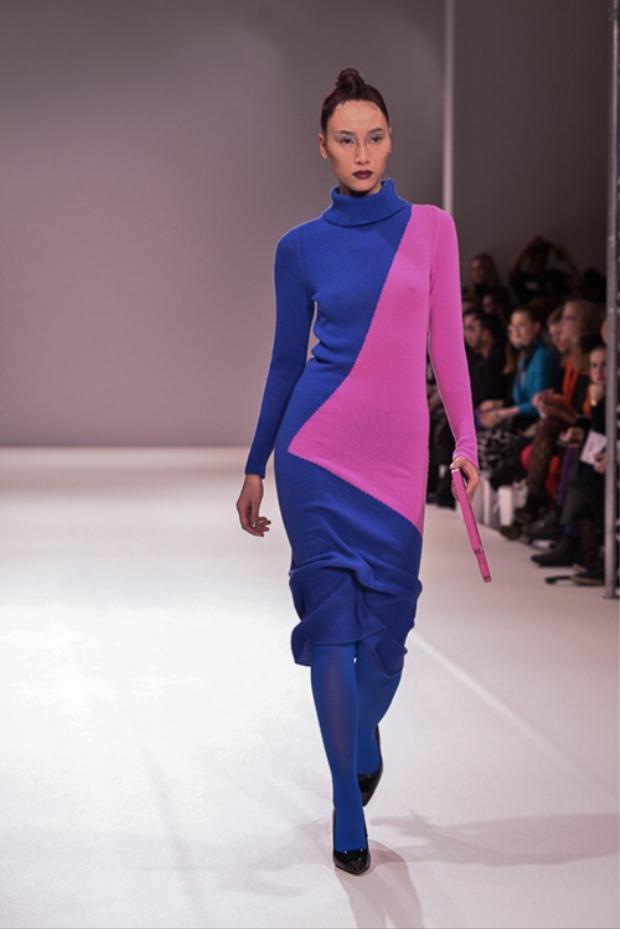 Trang Khiếu là một trong những người mẫu Việt đầu tiên đặt chân lên sàn runway quốc tế.