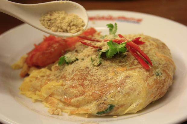 Món Pad Thai được chế biến vô cùng cầu kỳ.