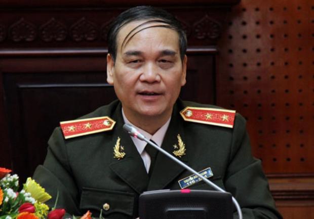 Trung tướng Nguyễn Đức Nhanh, Nguyên Giám đốc Công an TP Hà Nội.