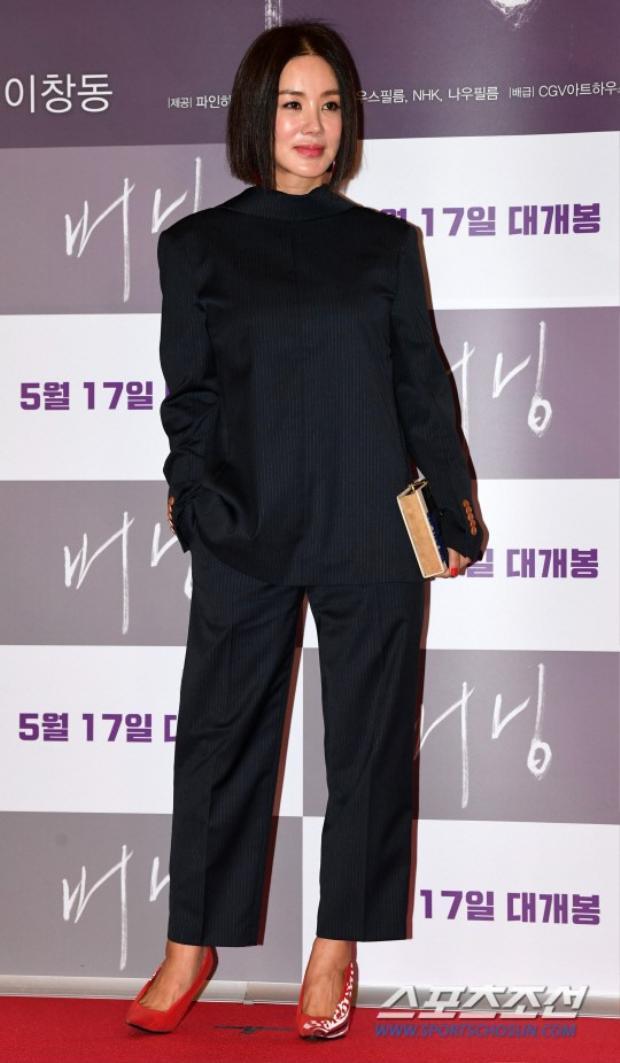 Ca sĩ kiêm diễn viên Uhm Jung Hwa.