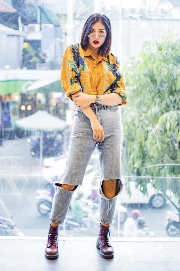 Chân dài sinh năm 1996 cho biết, thi hoa hậu chỉ là cuộc dạo chơi, lấy kinh nghiệm, trở thành một người mẫu chuyên nghiệp mới là đích đến của bản thân.