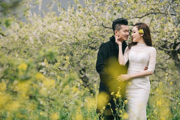 Lâm Vũ tình tứ cùng bà xã Huỳnh Tiên trong bộ ảnh cưới siêu ngọt ngào