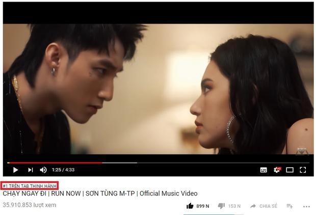 Chạy ngay đi đã comeback và đứng vị trí Top 1 thịnh hành YouTube.