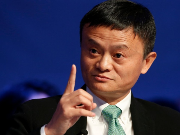 9. Jack Ma, chủ tịch Alibaba Group. Tài sản ròng: 39,2 tỷ USD. Alibaba là công ty thương mại điện tử lớn nhất Trung Quốc.