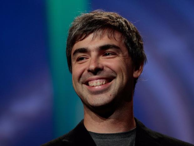 6. Larry Page, người đồng sáng lập Google. Tài sản ròng: 47,8 tỷ USD. Page là CEO đầu tiên của Google cho tới năm 2001.