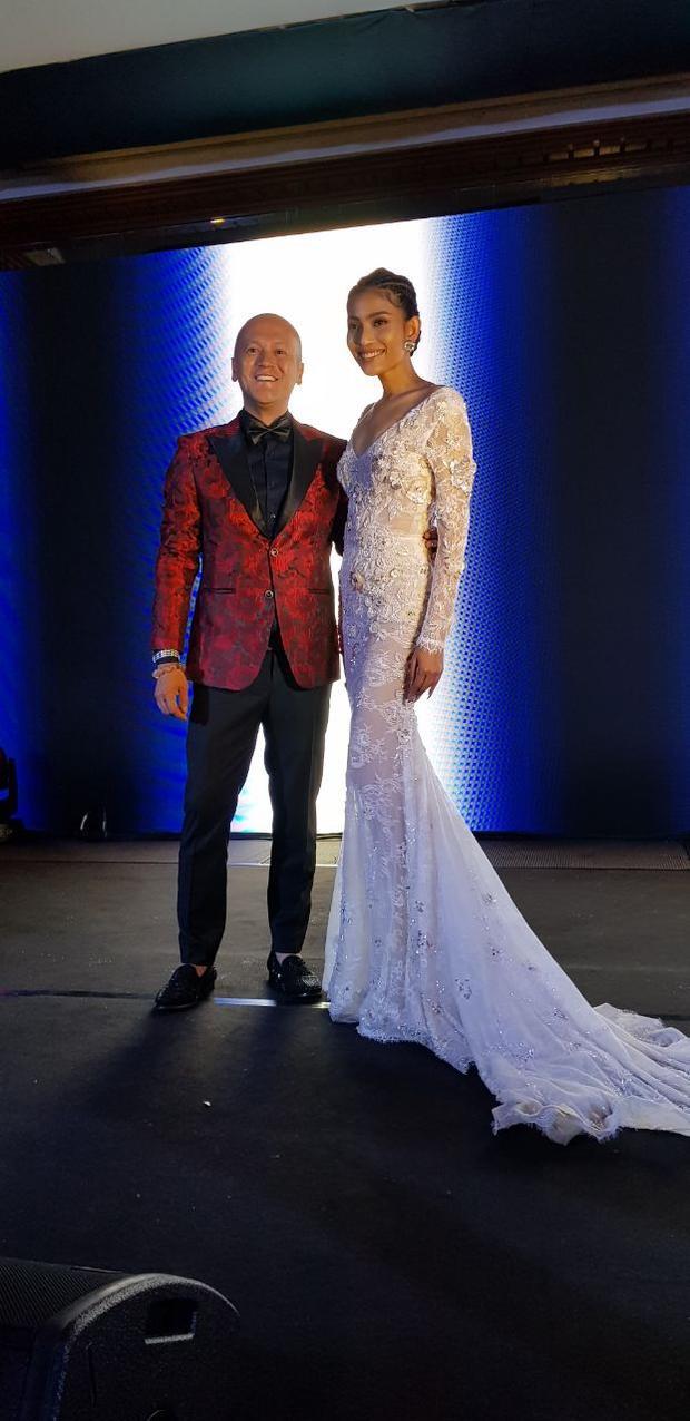 NTK Patrick Phạm và Á hậu Trương Thị May