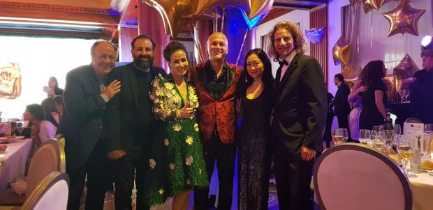 Trương Thị May, Vũ Ngọc Anh quyến rũ tại buổi tiệc đầy sao Hollywood do NTK Patrick Phạm tổ chức tại Cannes