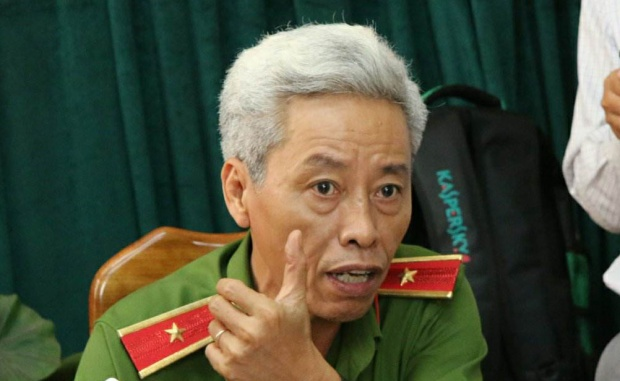 Thiếu tá Phan Anh Minh. Ảnh: Vietnamnet.
