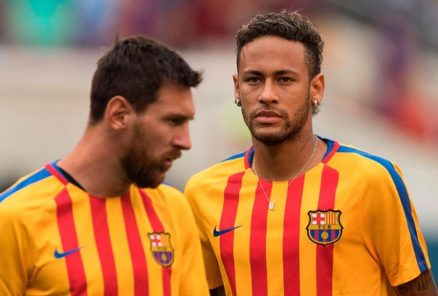 Messi lo ngại người đồng đội cũ Neymar sẽ gia nhập Real Madrid.