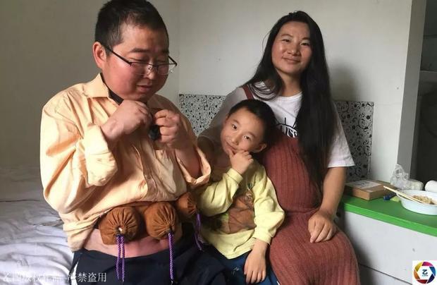 Gia đình chị Lương.