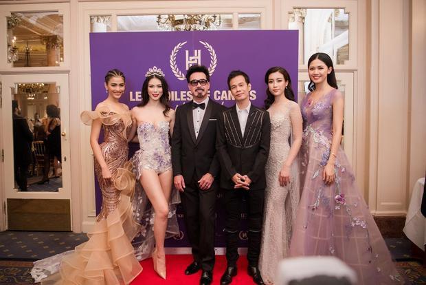 Tại sự kiện còn có sự hiện diện của cựu Hoa hậu Hoàn vũ thế giới người Nhật Bản Riyo Mori.