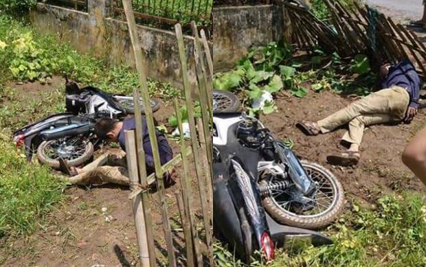 Hình ảnh người đàn ông trộm tài sản bị đánh trọng thương sau đó tử vong tại bệnh viện.
