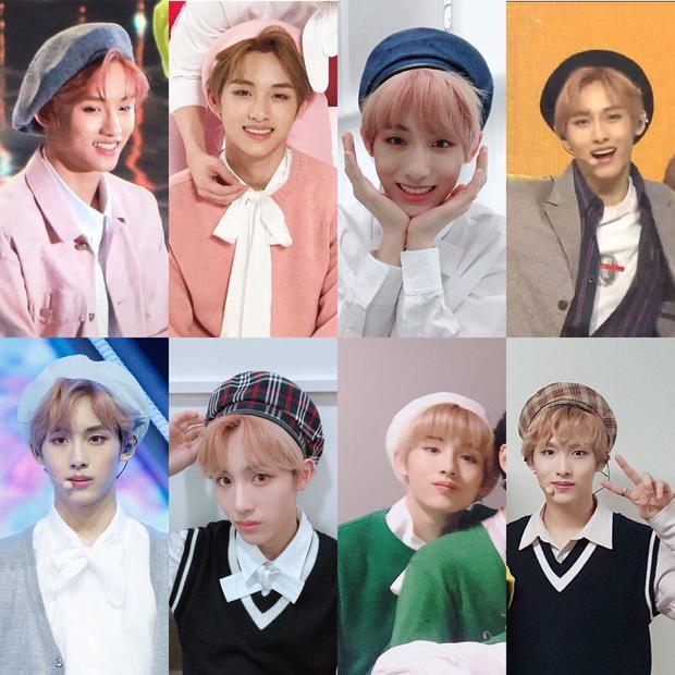 Winwin (NCT) và mũ Beret với những màu tóc đặc biệt làm điên đảo cộng đồng fan Kpop