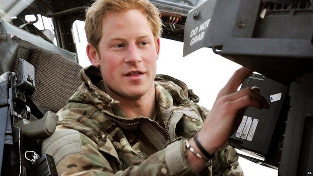 Hoàng tử Harry từng có thời gian tham gia nhiệm vụ ở Afghanistan. Ảnh: Getty