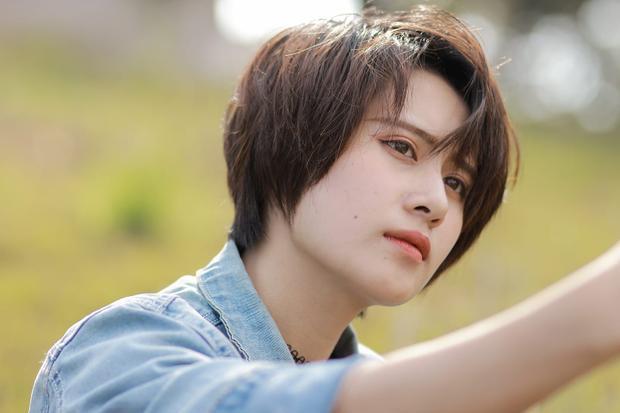 Bức ảnh đẹp xiêu lòng của cô bạn tomboy Thảo Nguyên.