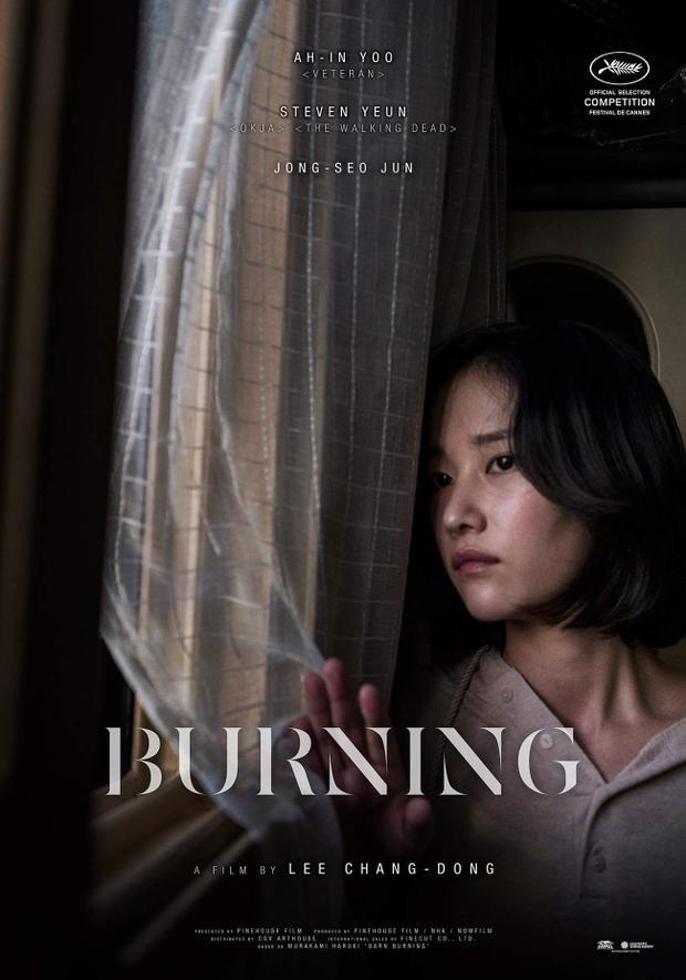Phim Burning của Yoo Ah In trở thành ứng cử viên số 1 cho giải thưởng Cành cọ vàng Cannes 2018