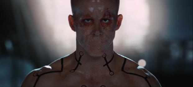 """Phiên bản lỗi của Deadpool năm 2009 trong""""X-Men Origins: Wolverine""""."""