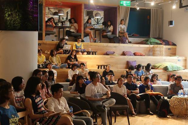 Chương trình thu hút nhiều bạn trẻ tham dự.