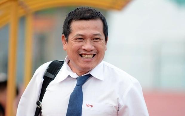 Ông Dương Văn Hiền không muốn nói về thông tin liên quan đến phó chủ tịch VPF. Ảnh: Zing.vn