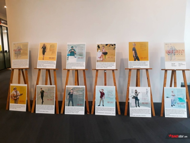 Triển lãm về người đồng tính - dị tính qua poster là một phần nằm trong khuôn khổ chương trình kỷ niệm.