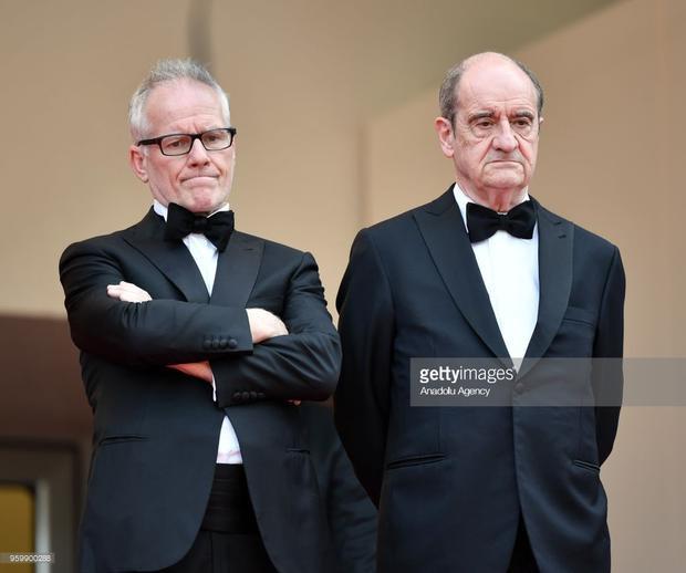 Pierre Lescure và Thierry Fremaux