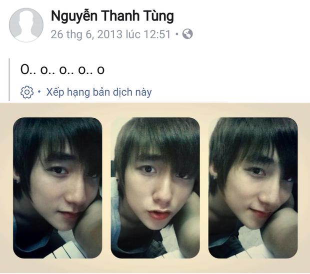 Sơn Tùng cũng đăng ảnh tự sướng như bao bạn trẻ khác.