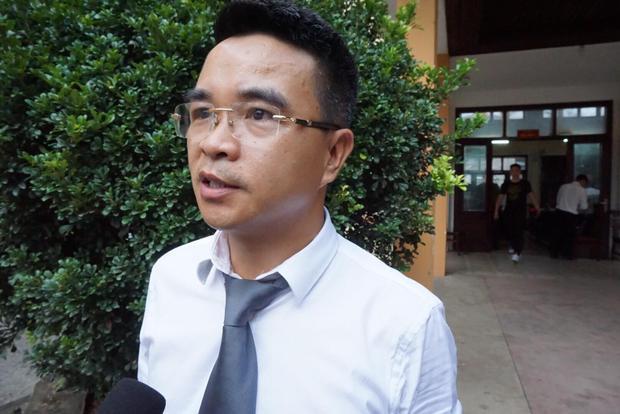 Luật sư Nguyễn Hoàng Trung.